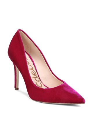 0e360f43ee01 Color(s)  virtual pink velvet. Brand  SAM EDELMAN. Style Name  Sam Edelman  Hazel Pointy Toe Pump (Women).