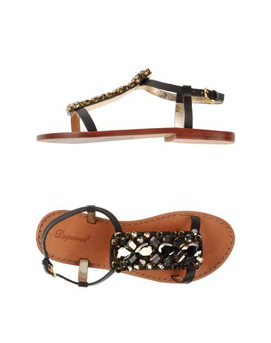 Dsquared2 Sandals In Dark Brown