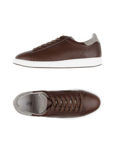 Brunello Cucinelli Sneakers In Dark Brown