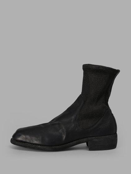 Guidi Men's Black Chelsea Boots
