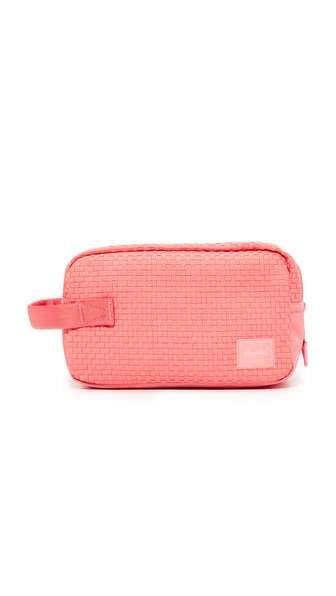 Herschel Supply Co. Chapter Cosmetic Case In Strawberry Ice
