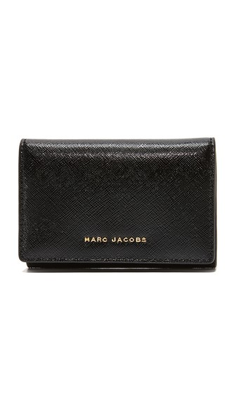 Marc Jacobs Multi Wallet In Black/berry