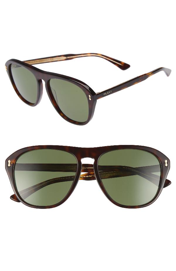 381dc3e96e5 Gucci Men s Acetate Aviator Optical Frames W  Sunglasses