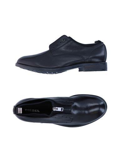 Diesel Lace-up Shoes In Black