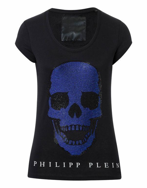 """Philipp Plein T-shirt Round Neck Ss """"skelts"""""""