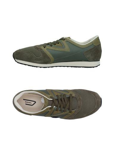 Diesel Sneakers In Military Green