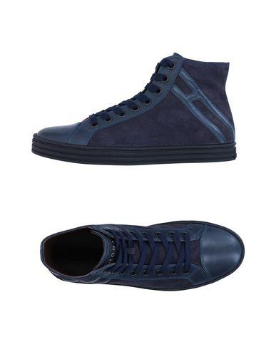 Hogan Rebel Sneakers In Dark Blue