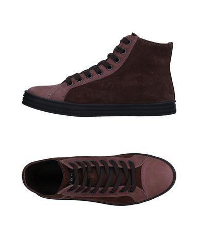 Hogan Rebel Sneakers In Cocoa