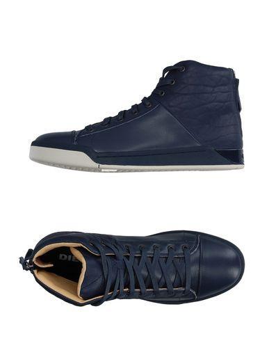 Diesel Sneakers In Dark Blue