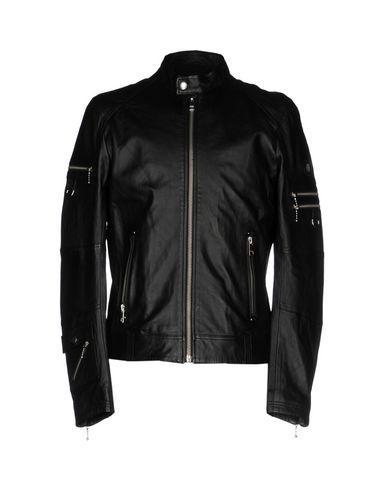 Diesel Biker Jacket In Black