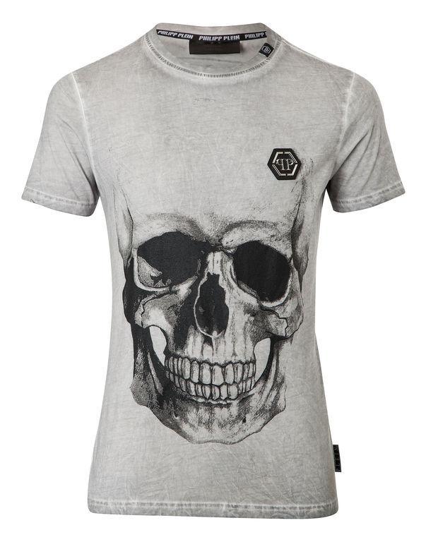 """Philipp Plein T-shirt Round Neck Ss """"behind"""""""