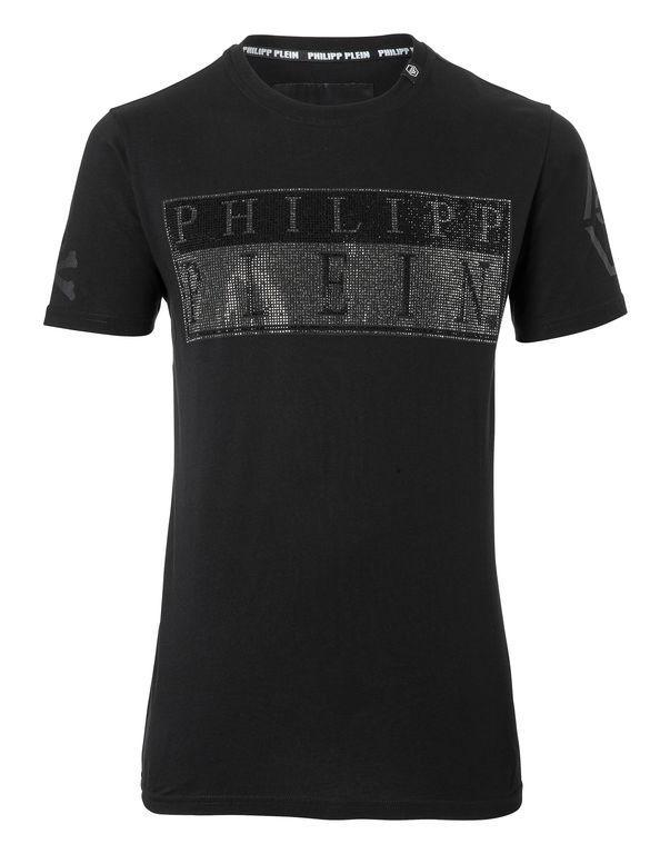 """Philipp Plein T-shirt Round Neck Ss """"blade"""""""