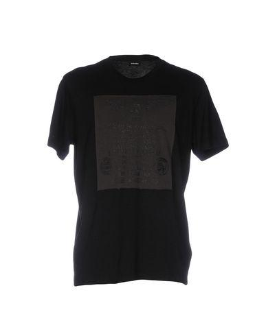Diesel T-shirts In Black
