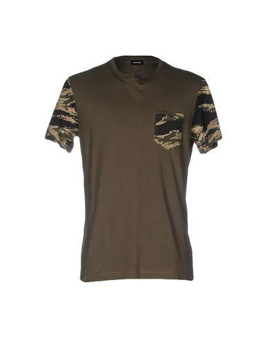 Diesel T-shirts In Military Green