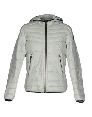 Diesel Down Jackets In Light Grey