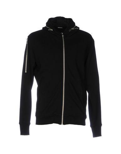 Diesel Hooded Sweatshirt In Black