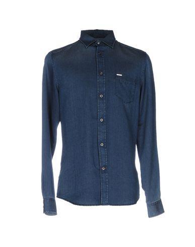 Diesel Solid Color Shirt In Blue