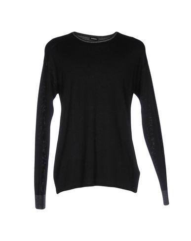 Diesel Sweaters In Black