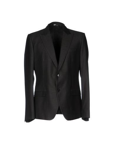 Dolce & Gabbana Blazers In Steel Grey