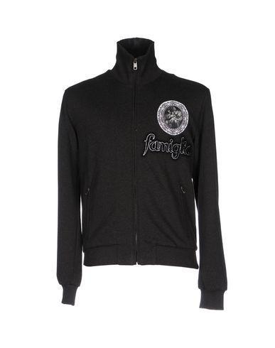 Dolce & Gabbana Sweatshirts In Steel Grey