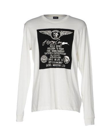 Diesel T-shirts In Ivory
