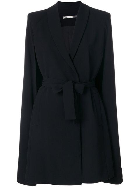 Alice And Olivia Belted Cape