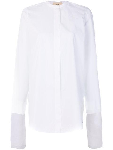 Ports 1961 Elongated Sleeves Shirt