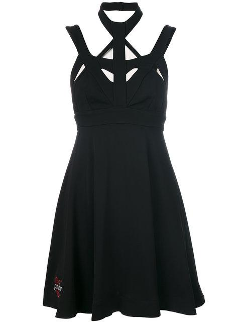 Philipp Plein Symmetric Strap Dress