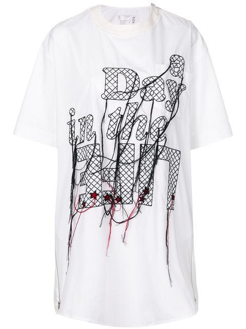 Sacai A Day In The Life T In White