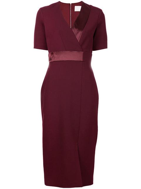 Dion Lee Spliced Dress - Red