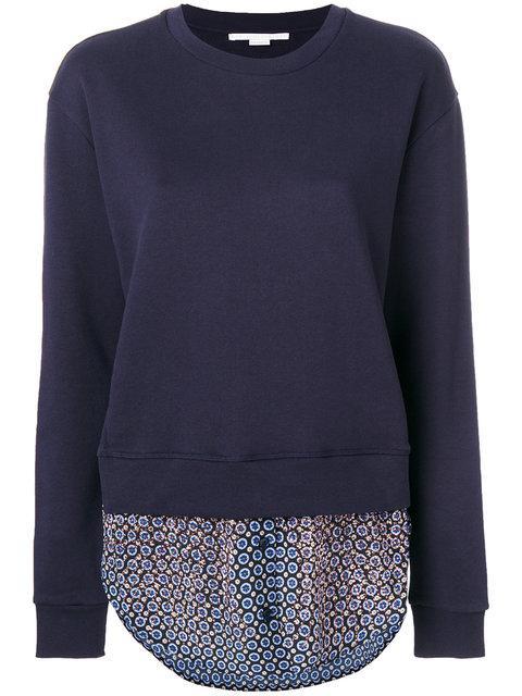 Stella Mccartney Tie Print Knitted Jumper
