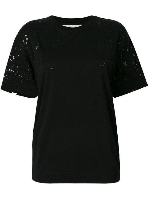 Stella Mccartney T-shirt In Black