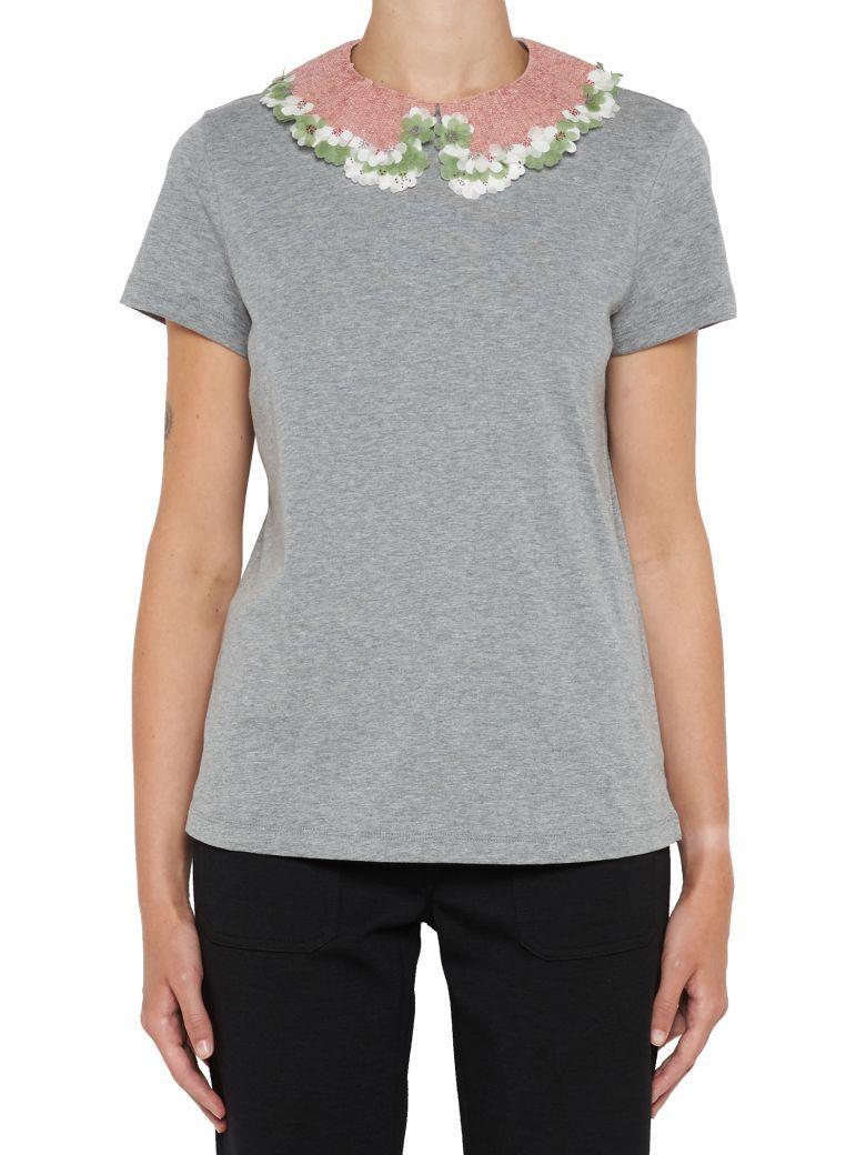 Valentino T-shirt In Grey