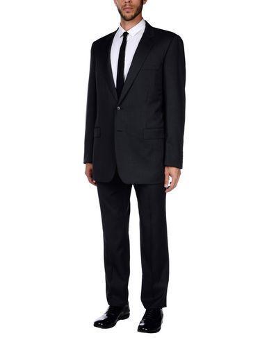 Dior Suits In Steel Grey