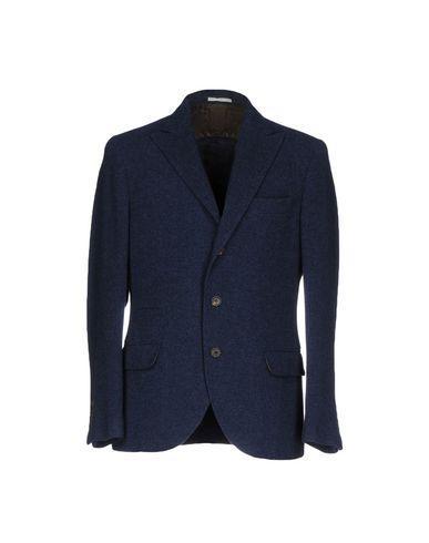 Brunello Cucinelli Blazers In Dark Blue