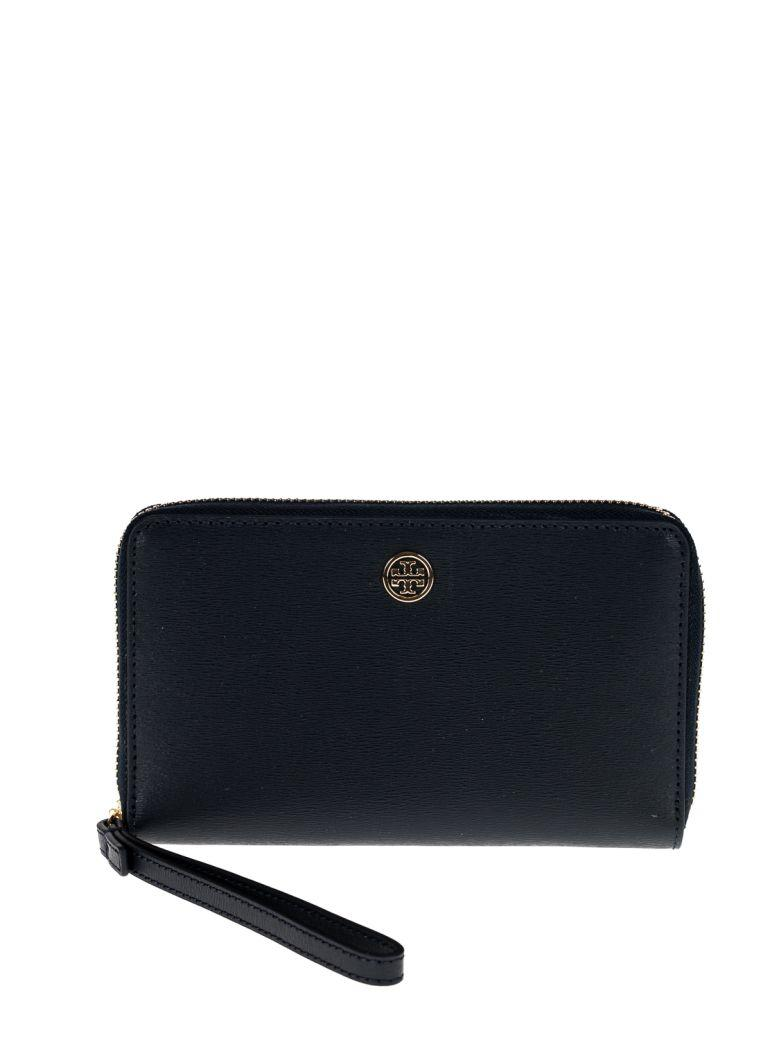 Tory Burch Parker Smartphone Wristlet In Tory Navy