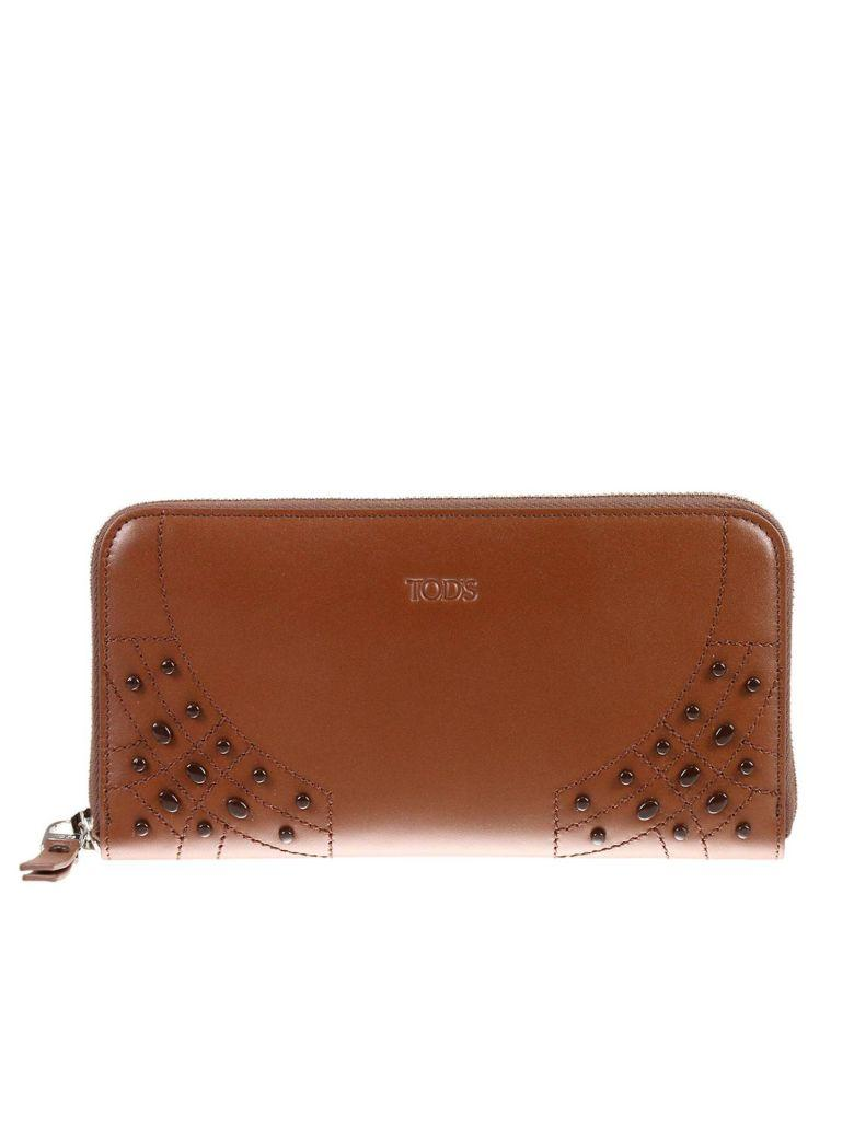 Tod's Wallet Wallet Woman Tods In Brown