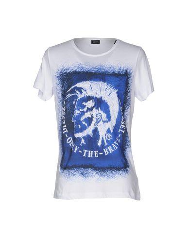 Diesel T-shirts In White
