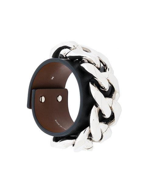 Givenchy Thick Chain Cuff Bracelet
