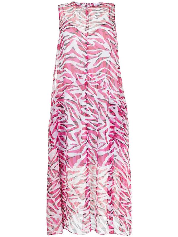 Equipment Tanielle Mid-length Dress In Rosa