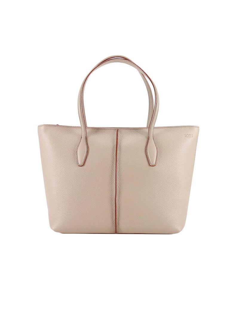 Tod's Shoulder Bag Handbag Women  In Nude