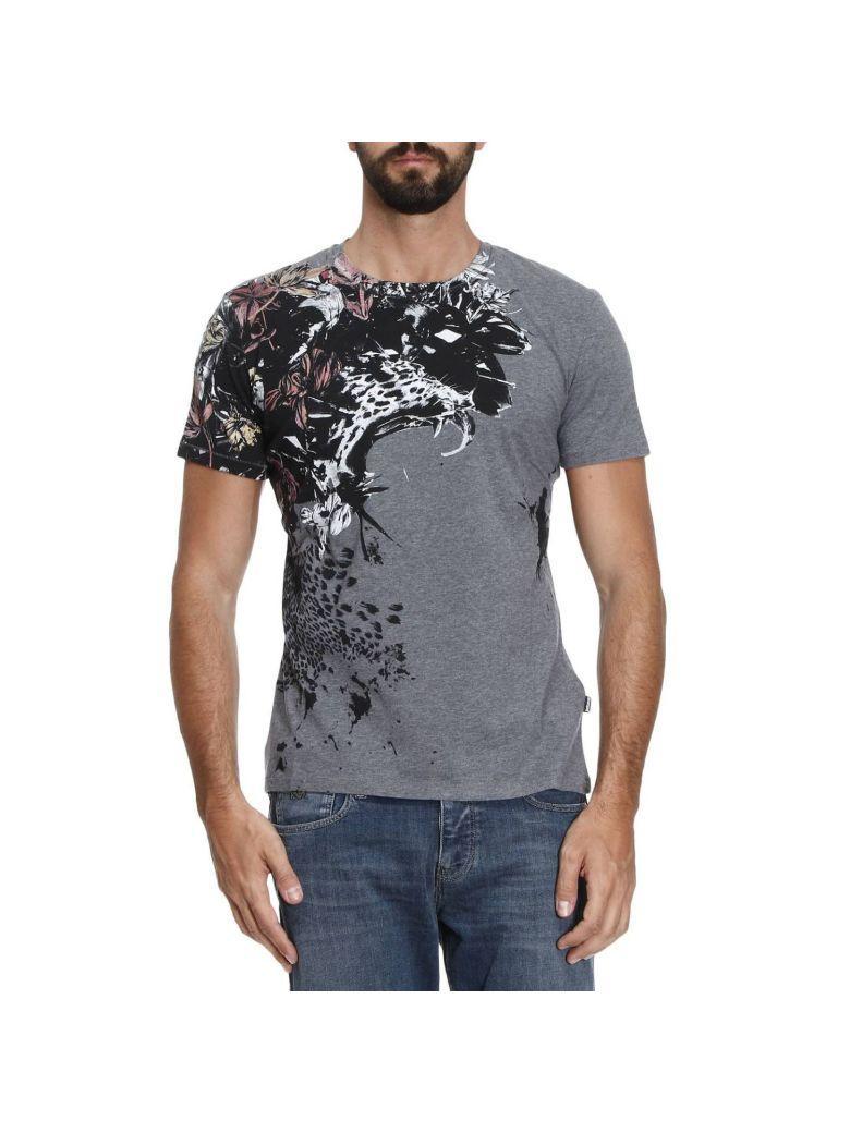 Just Cavalli T-shirt T-shirt Men  In Charcoal