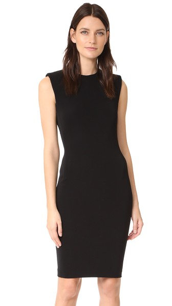 Theory Power Dress In Black