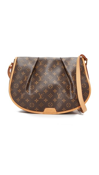 Louis Vuitton Monogram Shoulder Bag (previously Owned) In Lv Print