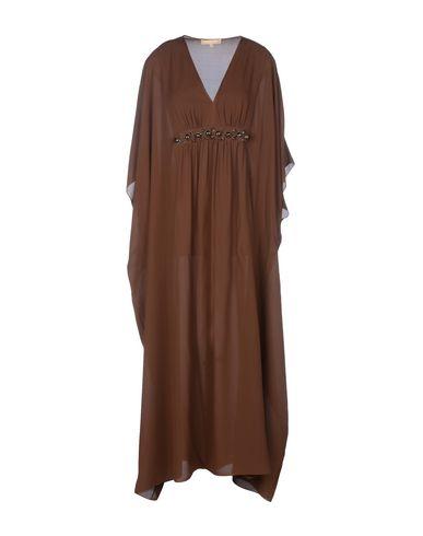 Michael Kors Long Dress In Cocoa