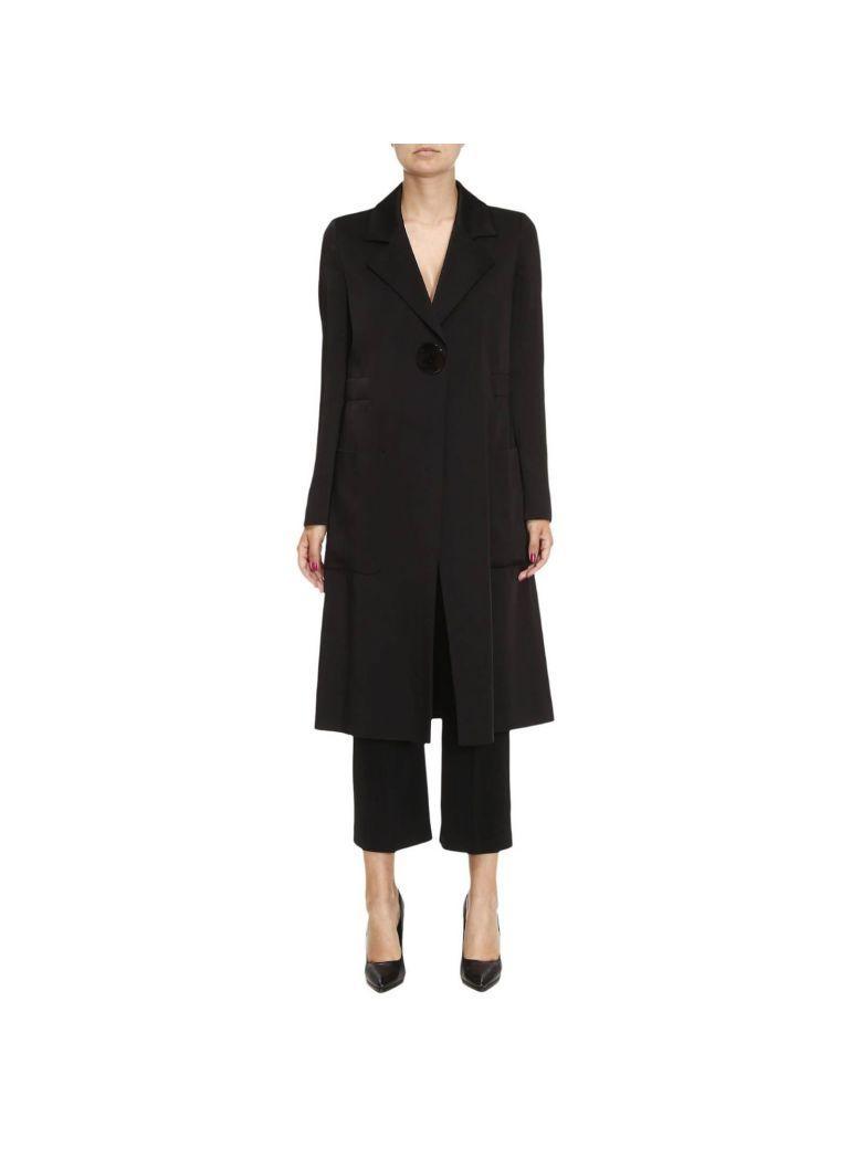 Emporio Armani Coat Coat Women  In Black
