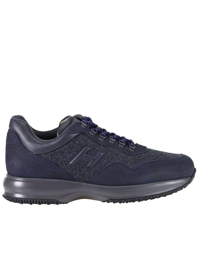 Hogan Sneakers Shoes Men  In Blue