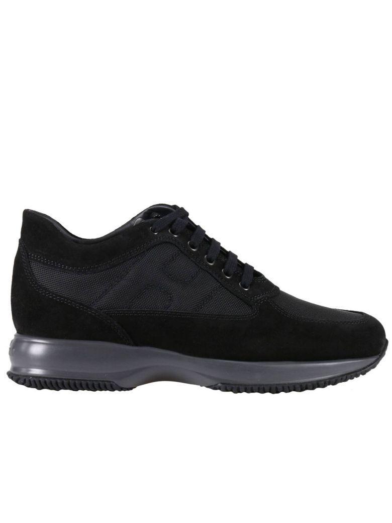 Hogan Sneakers Shoes Men  In Black