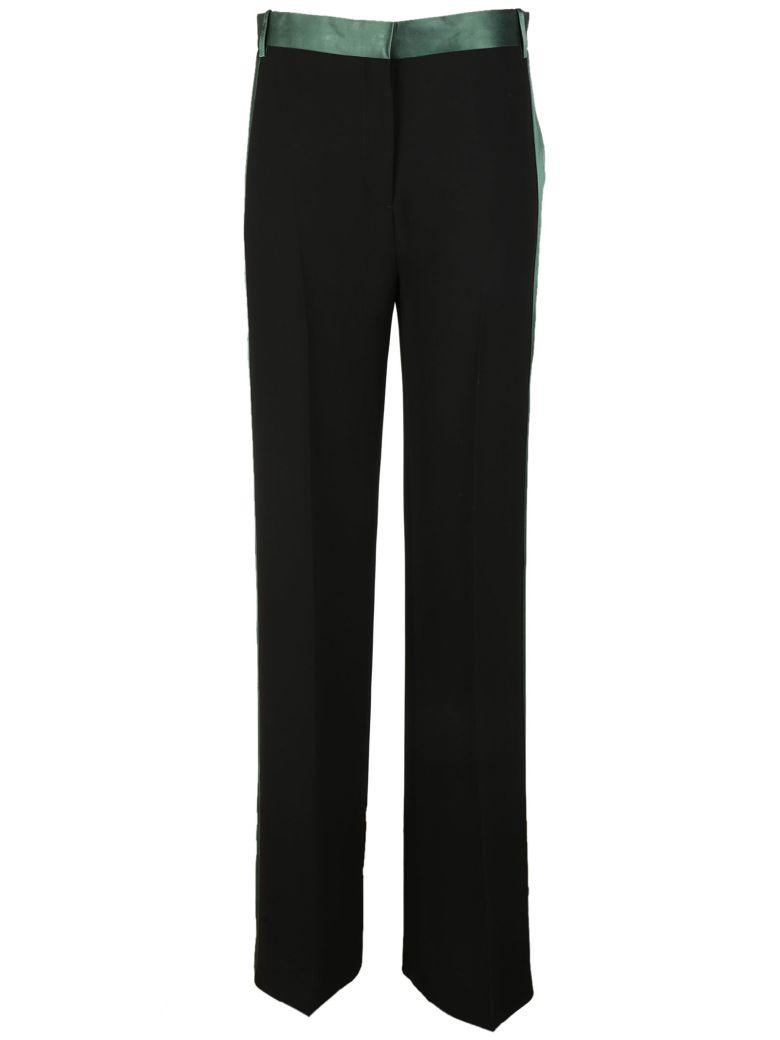 Victoria Beckham Straight Tailored Trousers In Black