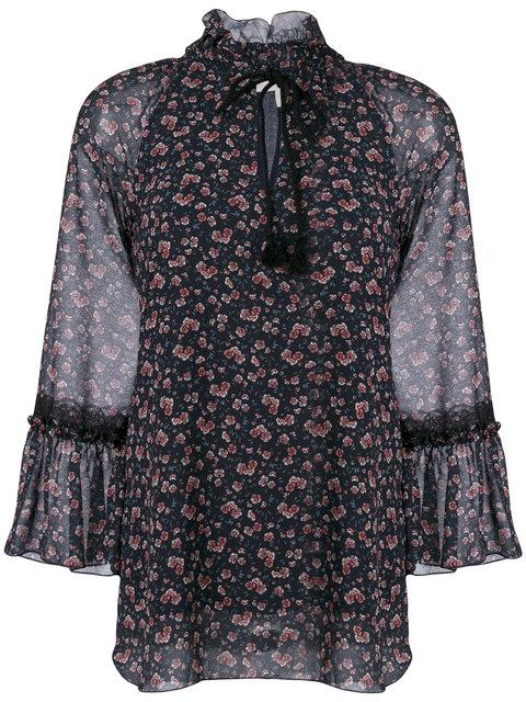 See By ChloÉ Keyhole Peasant Blouse